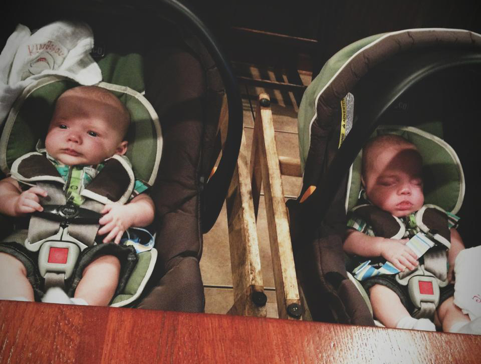 The Boys' first trip to Jeffersons!